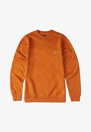 Sweatshirt - dusty orange