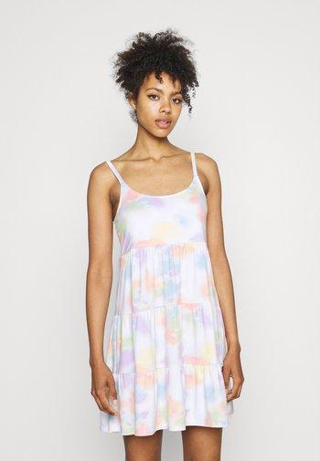 PRIDE CAPSULE BABYDOLL DRESS - Jerseykjole - multi wash