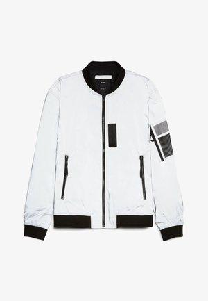 REFLEKTIERENDE  - Bomber Jacket - silver