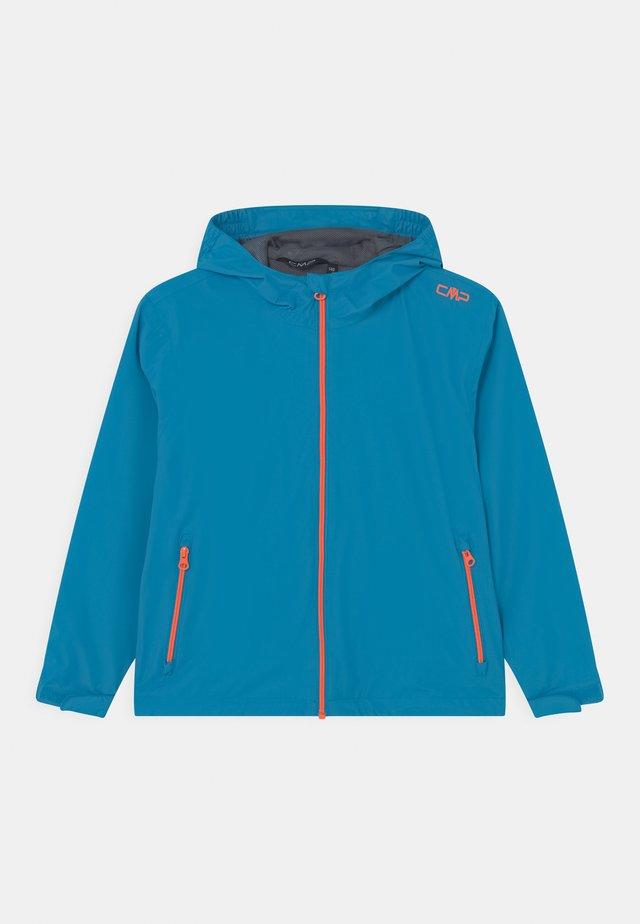 RAIN FIX HOOD UNISEX - Impermeable - blue/orange