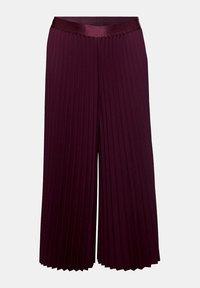 Esprit Collection - CULOTTE - Trousers - bordeaux red - 9