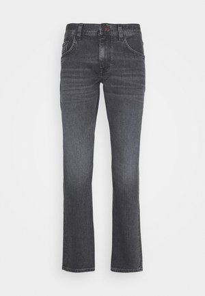 STRAIGHT DENTON AGAR - Straight leg jeans - black denim