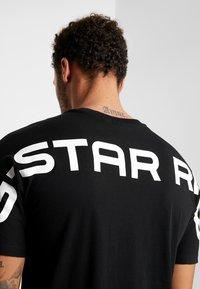G-Star - KORPAZ LOGO - Print T-shirt - dark black - 3