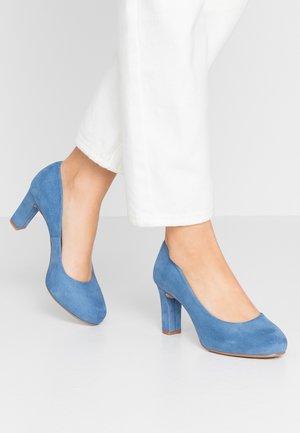 NUMIS - Platform heels - azure