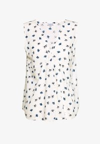 PRINTED KNOT BLOUSE - Bluse - white beach