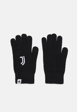 JUVENTUS TURIN GLOVES UNISEX - Artykuły klubowe - black/white