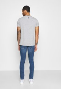 Brave Soul - FRANKLIN - Print T-shirt - light grey marl - 2