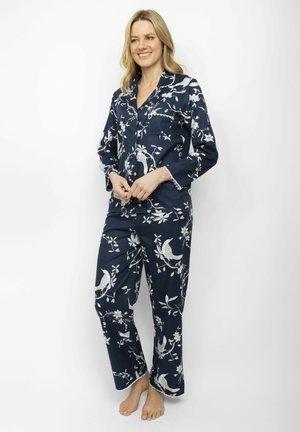 SET - Pyjama set - navy bird print