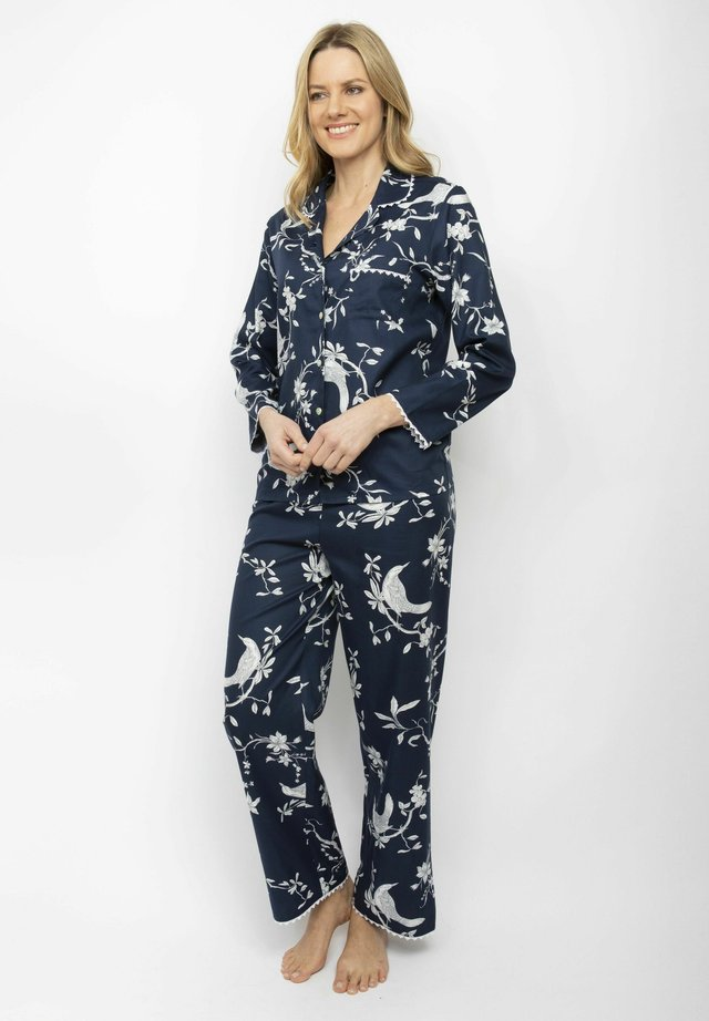 SET - Pyjamas - navy bird print