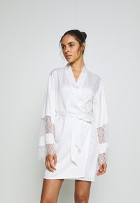 Hunkemöller - KIMONO - Dressing gown - off white - 0
