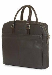 Howard London - Morris Dark Brown - Laptop bag - dark brown - 2