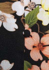 Vila - VIFLOUNSY 3/4 TIE BELT MIDI DRESS - Maxi-jurk - black - 2