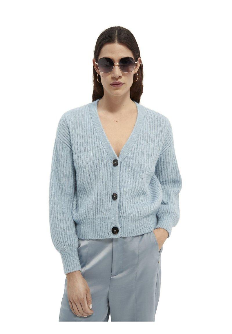 Scotch & Soda - FUZZY BOXY FIT  - Vest - french blue melange