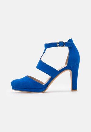 High heels - royal blue