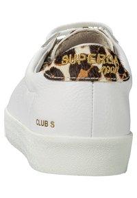 Superga - CLUB S COMFEA PONYHAIR W - Trainers - white-leo zebra - 3
