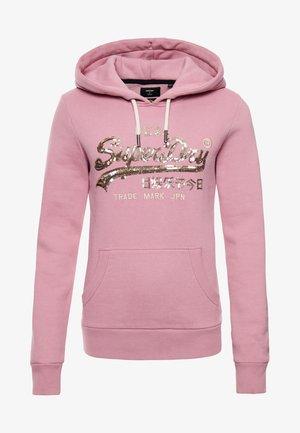 VINTAGE BOHO SPARKLE  - Hoodie - soft pink