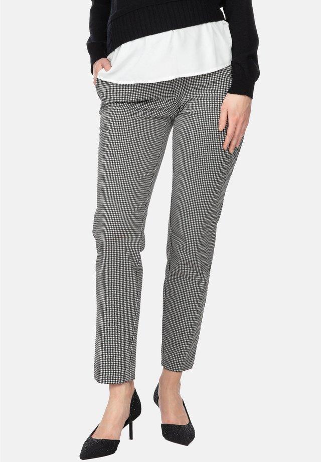 HARRY - Pantaloni - blackwhite