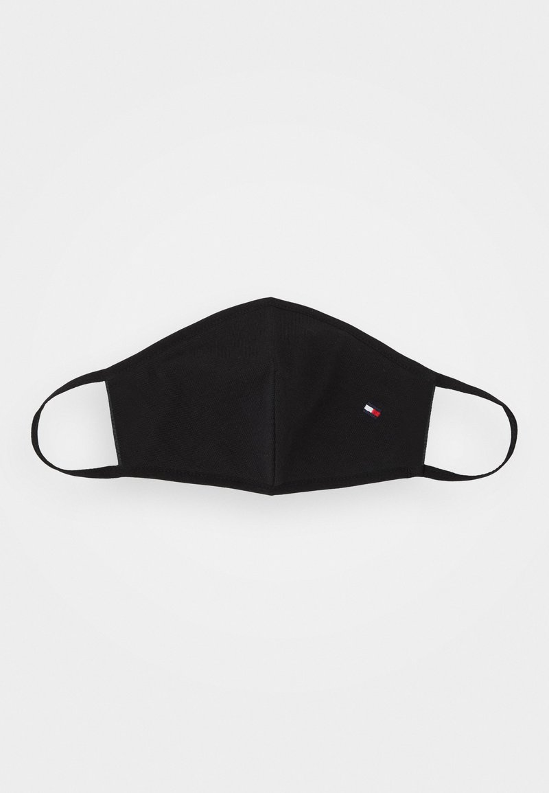 Tommy Hilfiger - GLOBAL STRIPE WOMEN'S FACE COVER - Community mask - black