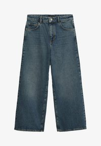 Massimo Dutti - Flared Jeans - dark blue - 2