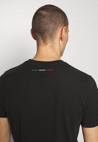 AUTOMOBILI LAMBORGHINI - T-shirt con stampa - nero - 3