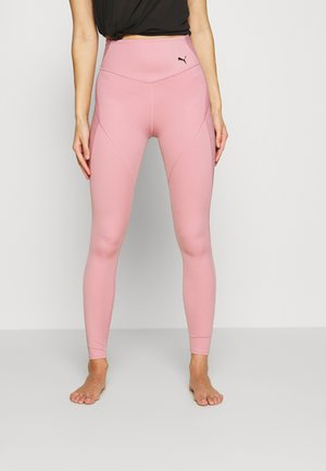 STUDIO PORCELAIN ULTRA RISE FULL - Leggings - foxglove