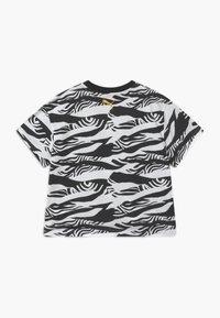 Puma - PUMA X ZALANDO GIRLS TEE - T-shirt print - black - 1