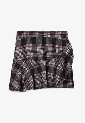 MIT VOLANT  - Áčková sukně - red