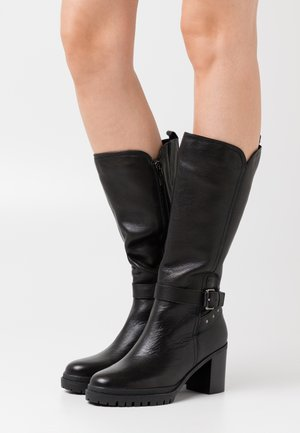 LADIES BOOTS - Platform boots - black