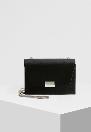 SCHWARZE UMHÄNGETASCHE 14015540 - Taška spříčným popruhem - black