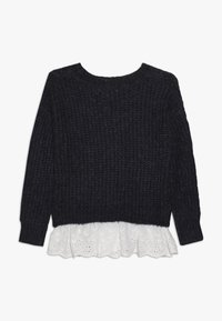 Mini Molly - GIRLS  - Svetr - navy blue - 1
