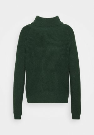 VIJUPA TURTLE NECK - Strikkegenser - pine grove