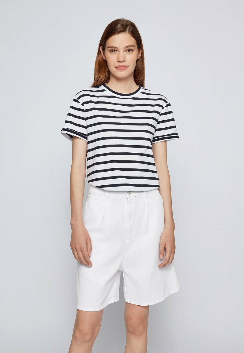 BOSS - Print T-shirt - patterned
