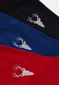 FALKE - 3 PACK - Socks - dark blue/bordeaux - 1