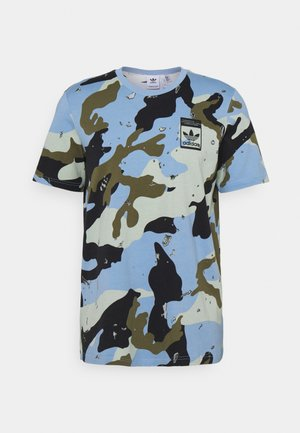 CAMO TEE UNISEX - T-shirt con stampa - ambient sky