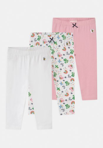 COLOUR UP MY LIFE 3 PACK - Leggings - Trousers - light pink/multi-coloured