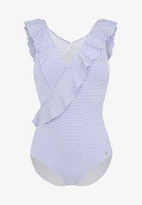 LASCANA - Swimsuit - blue/white - 5