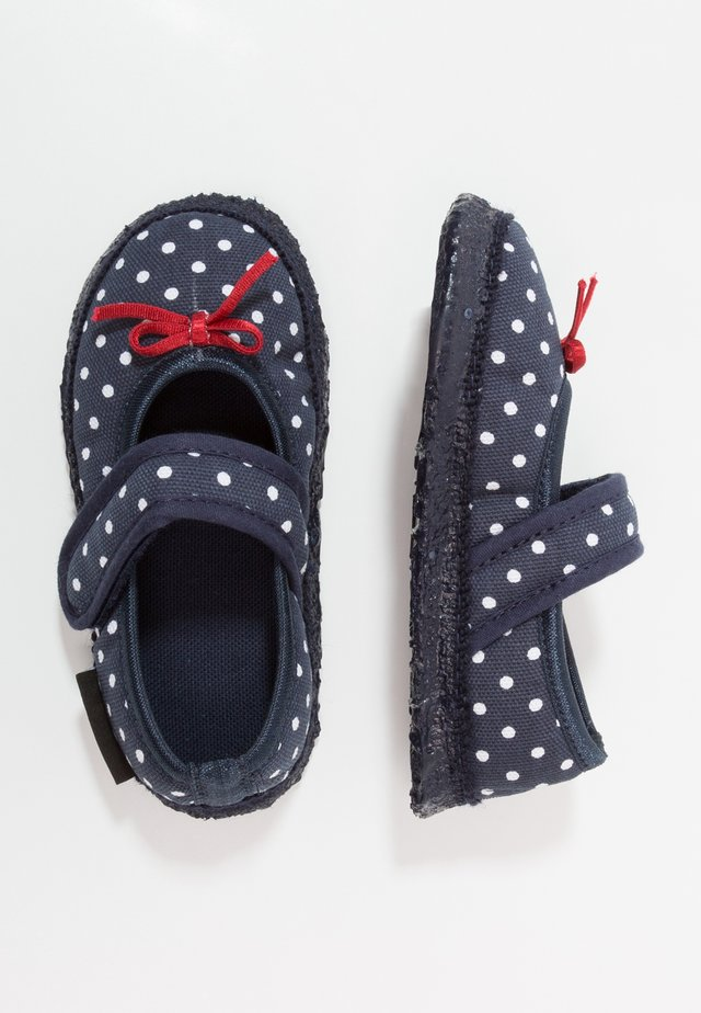 BERRY - Chaussons - marine