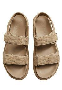 Mango - Sandals - halvbrun - 1