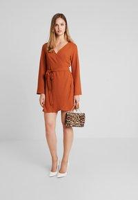 Even&Odd - Day dress - rusty red - 1