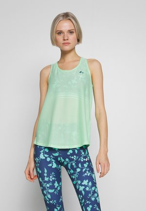 LOOSE TRAINING TANK - Funktionsshirt - green ash