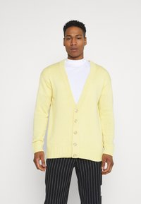 Zign - UNISEX - Cardigan - light yellow - 0