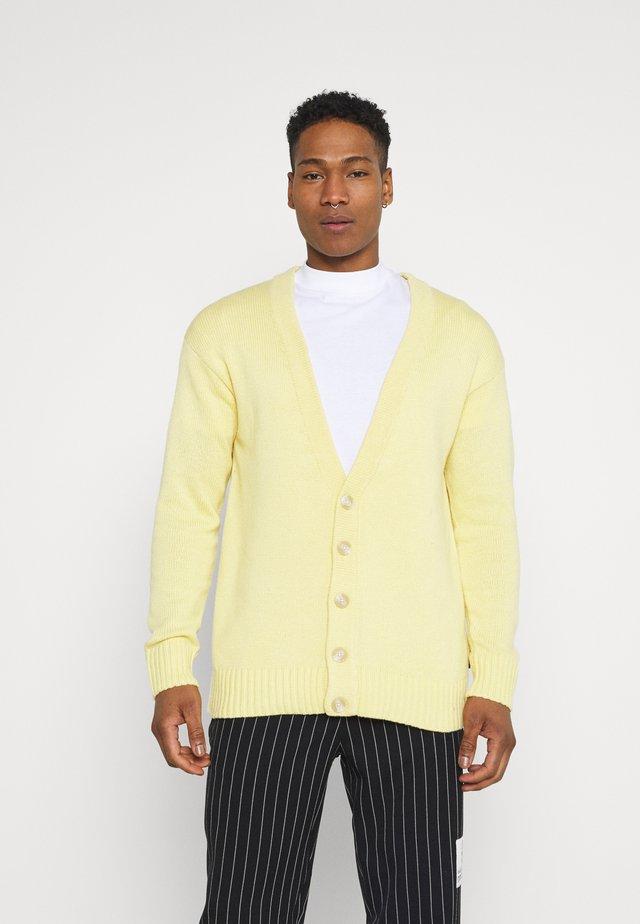 UNISEX - Cardigan - light yellow