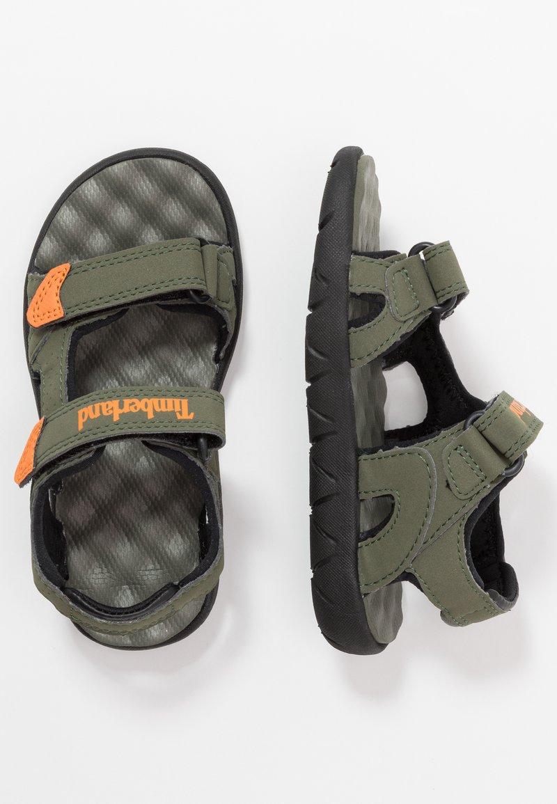 Timberland - PERKINS ROW 2 STRAP - Walking sandals - dark green