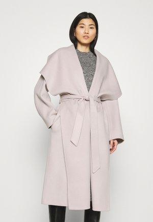 BATHROBE COAT - Klasický kabát - light grey