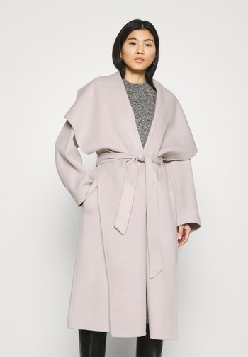 BATHROBE COAT - Classic coat - light grey