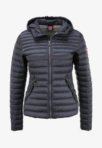 Colmar Originals - PUNKY - Down jacket - navy blue-light stee - 3