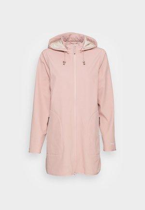 RAINCOAT - Waterproof jacket - adobe rose