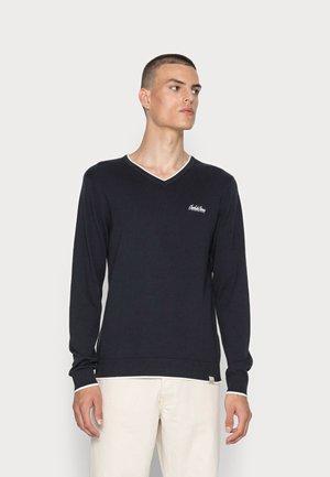 JORLEGEND V NECK - Pullover - navy blazer