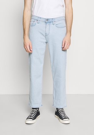CROP WIDE - Relaxed fit jeans - clean light wash