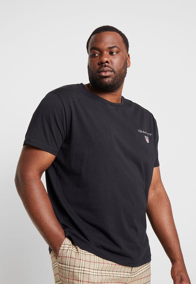 MEDIUM SHIELD - T-shirt basique - black